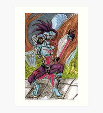 Lord Raptor  Art Print