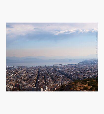 View to Athens Harbor (Greece) VRS2 Photographic Print
