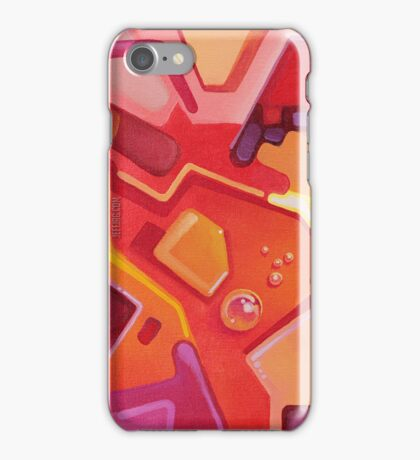 Plasticon - Abstract Acrylic Canvas Painting iPhone Case/Skin