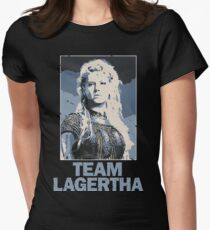 Team Lagertha - Vikings, History Channel Women's Fitted T-Shirt