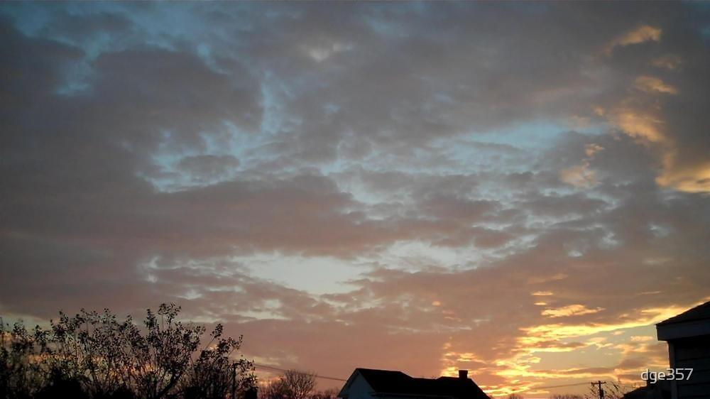01/28/2013 Fantastic Sunset 5 by dge357