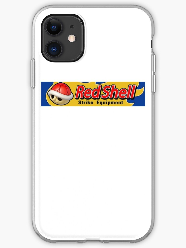 Mario Kart 8 Red Shell Strike Equipment Iphone Case By Harmarfan