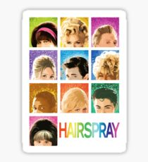 Hairspray Sticker