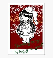 Yuletide Red Photographic Print