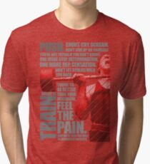 Train and Discipline Tri-blend T-Shirt