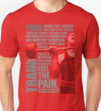 Train and Discipline Unisex T-Shirt