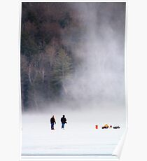 Approaching Snow Devil Poster