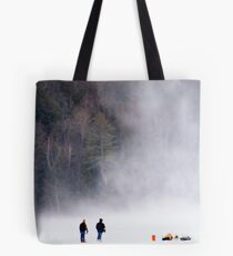 Approaching Snow Devil Tote Bag