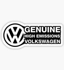 Genuine High Emissions VW Sticker