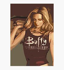 Buffy Season 8 Photographic Print