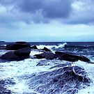 on the rocks by Glen Johnson