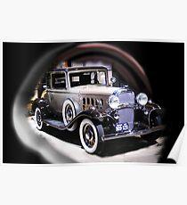 ╭∩╮( º.º )╭∩╮ OldsMobile Classic Car  ╭∩╮( º.º )╭∩╮ Poster
