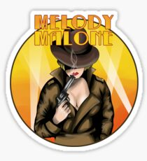 Melody Malone Sticker