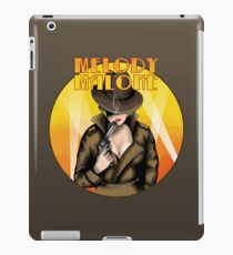Melody Malone iPad Case/Skin