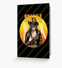 Melody Malone Greeting Card