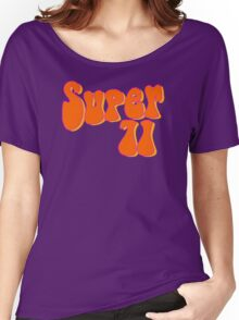 Super 71 - Orange Women's Relaxed Fit T-Shirt