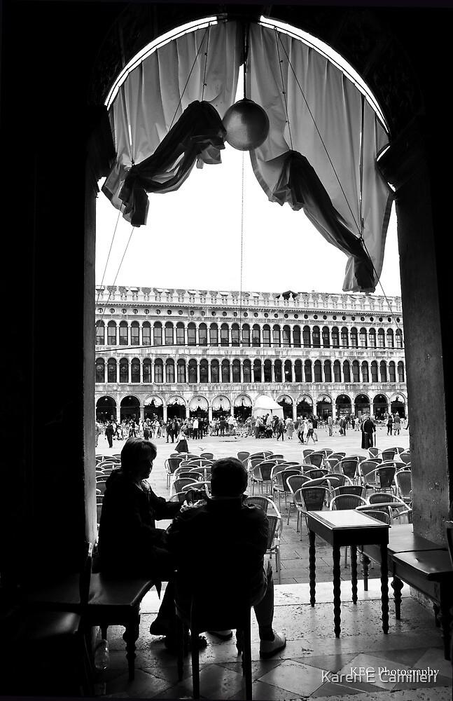 View from Caffe Florian by Karen E Camilleri