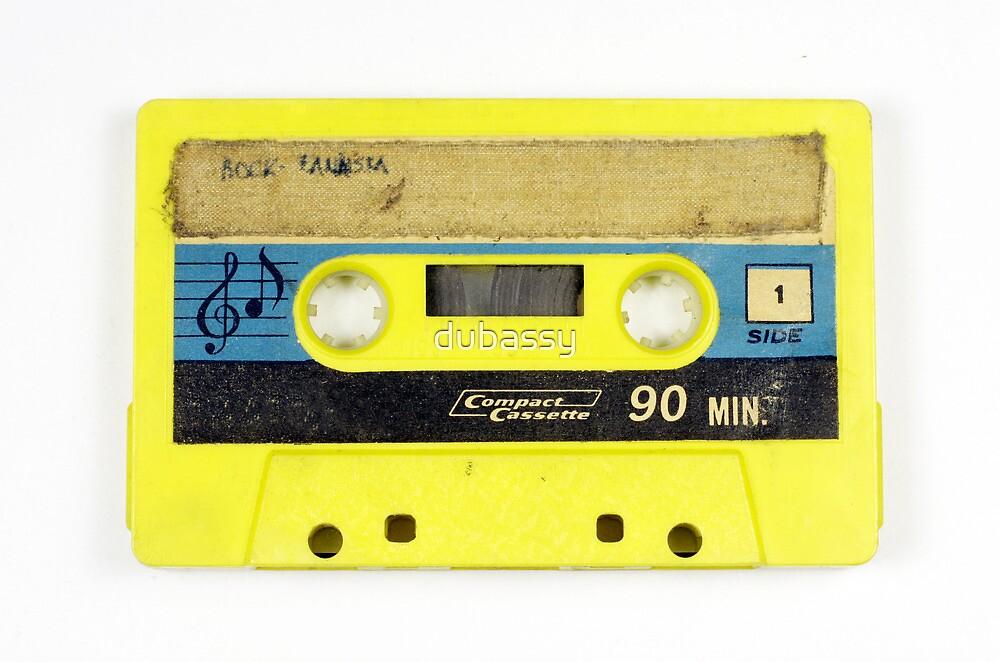 old cassette tape  by dubassy