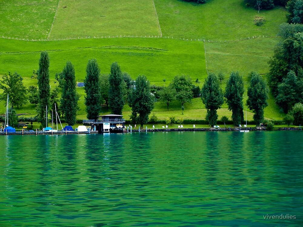 Green Lake Locarno (Swiss)  VRS2 by vivendulies