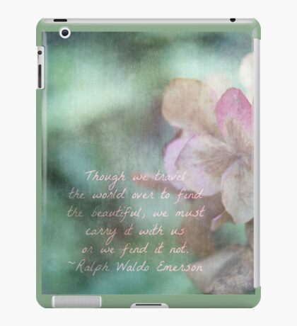 Carry it with us... iPad Case/Skin