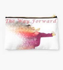 The way forward. Exploding hip-hop dancer  Studio Pouch