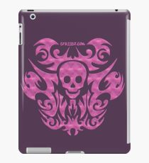skull tattoo pink iPad Case/Skin
