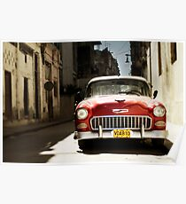 car in havana Poster