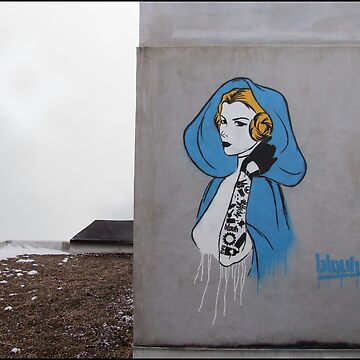 Princess Leia Graffiti by blouh