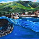 Honu Hale  by DakineFineart