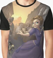 Sonya Golden Hand - Rejected Princesses Graphic T-Shirt