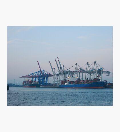 Hamburg Container Harbor (Germany) VRS2 Photographic Print