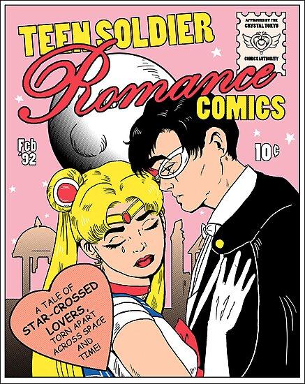 Teen Soldier Romance Comics by DiHA