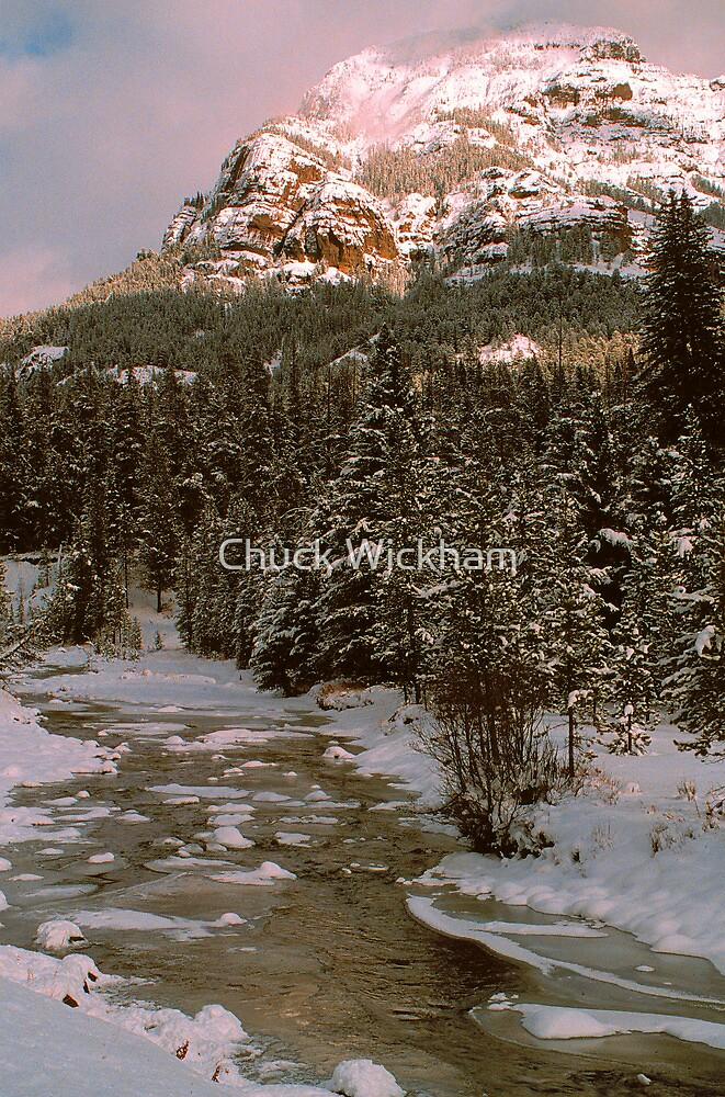 WINTER,YELLOWSTONE by Chuck Wickham