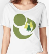 """Earth Day """"Save The Trees"""" Women's Relaxed Fit T-Shirt"""