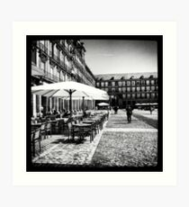 Plaza Mayor in Madrid Art Print
