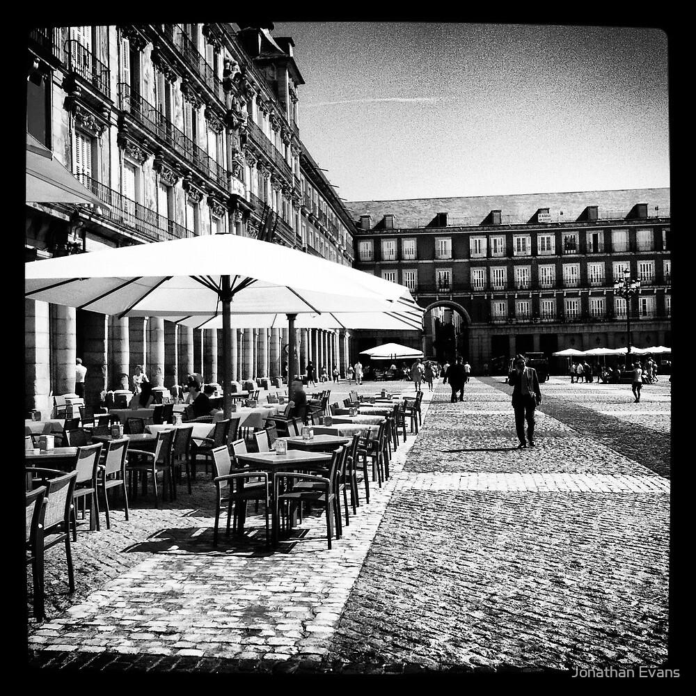 Plaza Mayor in Madrid by Jonathan Evans