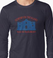 Vintage Alamo Has No Basement T-Shirt