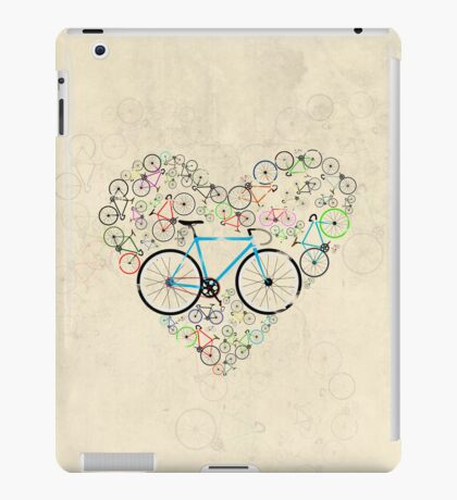 I Love My Bike iPad Case/Skin
