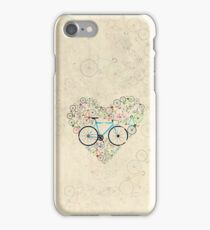 I Love My Bike iPhone Case/Skin