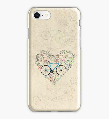 I Love My Bike iPhone Case/Skin
