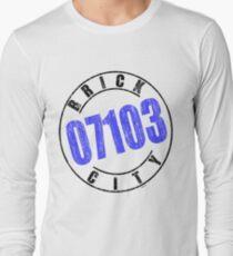 'Brick City 07103' Long Sleeve T-Shirt