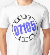 'Brick City 07105' Unisex T-Shirt