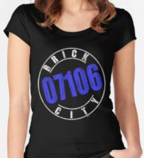 'Brick City 07106' (w) Women's Fitted Scoop T-Shirt