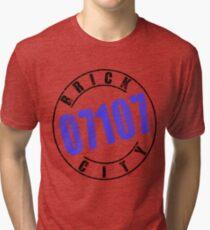 'Brick City 07107' Tri-blend T-Shirt