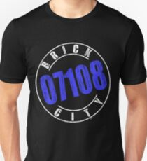 'Brick City 07108' (w) Unisex T-Shirt
