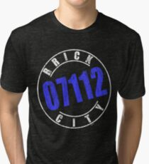'Brick City 07112' (w) Tri-blend T-Shirt