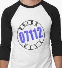 'Brick City 07112' Men's Baseball ¾ T-Shirt