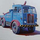 AEC Militant breakdown Lloyds by Mike Jeffries