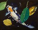 Kumonryu Koi Art by Michael Creese