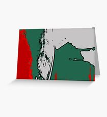 Red + Green Greeting Card